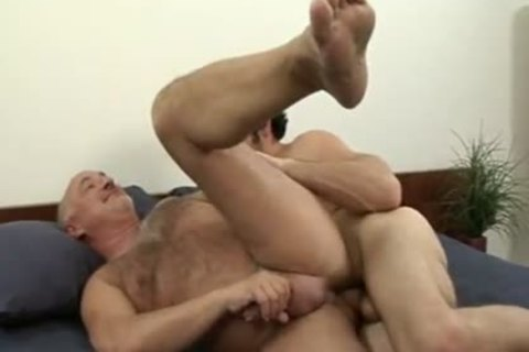 grandad loves To Ride That raw College cock
